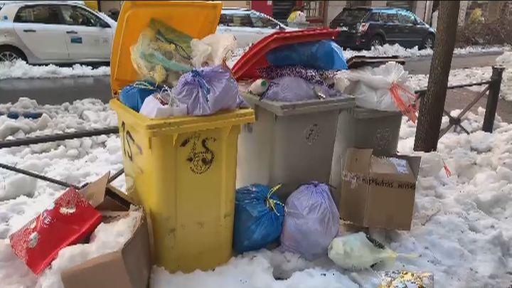 La recogida de basura ya ha empezado en Madrid y se normalizará en dos días