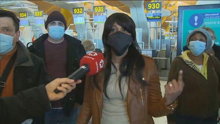 """El aeropuerto de Madrid Barajas recupera """"muy gradualmente"""" la actividad"""