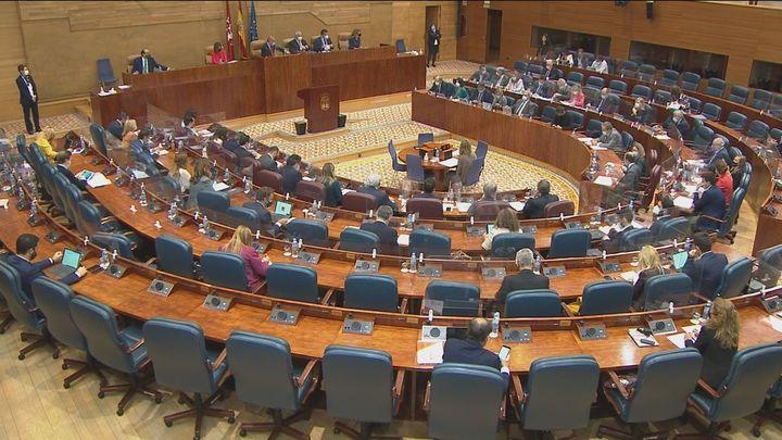 La Asamblea de Madrid habilita un pleno el 21 de enero sobre la pandemia y la vacunación