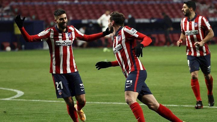 Atlético de Madrid, en la ruta de igualar la mejor primera vuelta de su historia