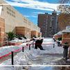 El Centro de Natación Mundial 86 sufre las consecuencias del temporal de nieve