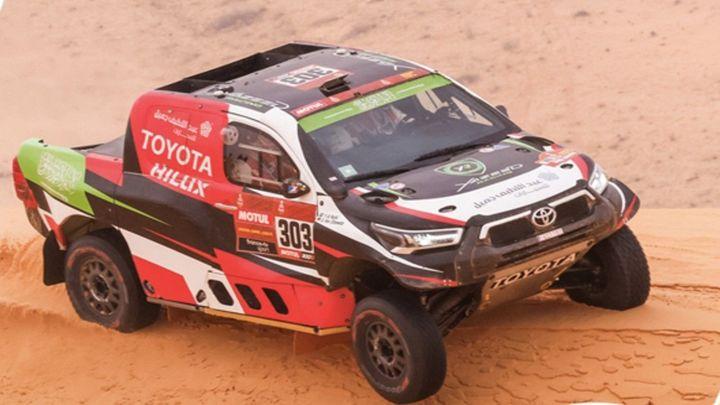 Al Rajhi sorprende a los favoritos en la décima etapa del Dakar