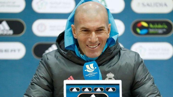 """Zidane sobre el Athletic: ''Un rival muy fuerte que nos hará correr mucho y pelear"""""""