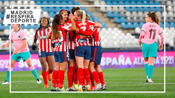 Duelo de titanes en la liga femenina: Atlético de Madrid - FC Barcelona