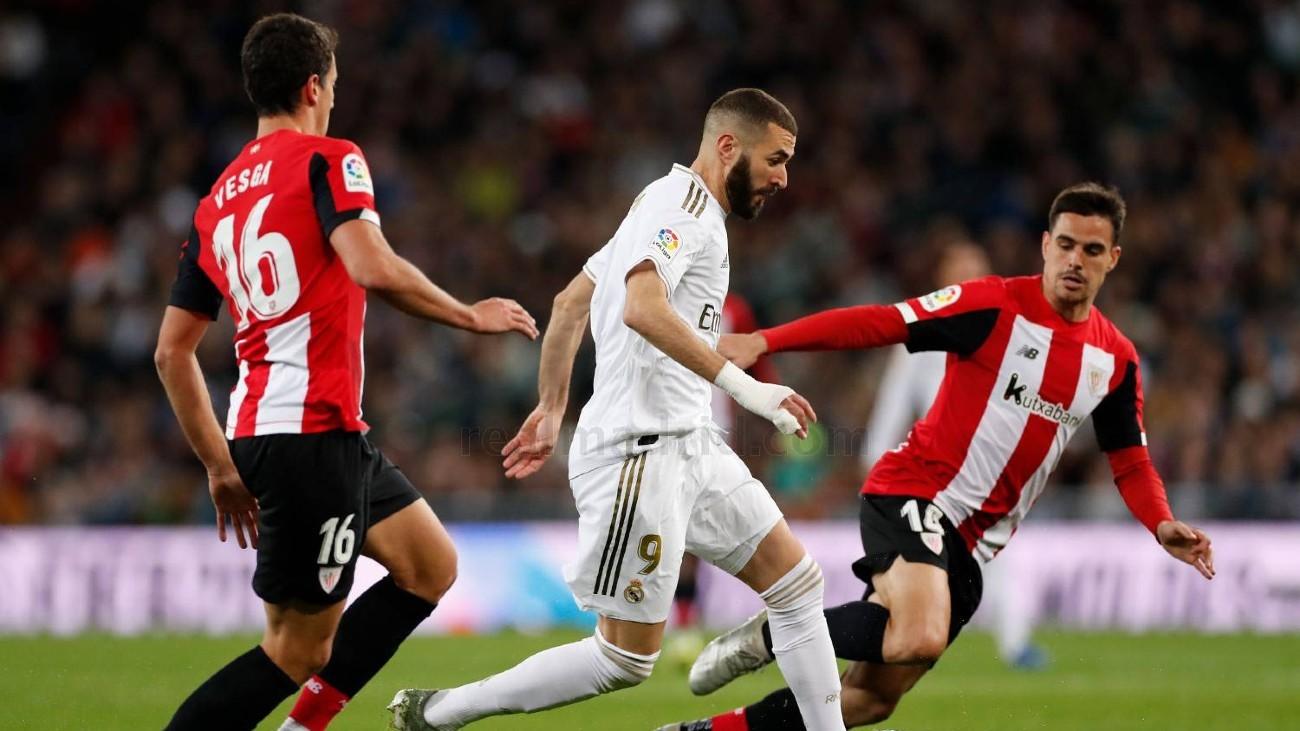 Benzema ante el Athletic