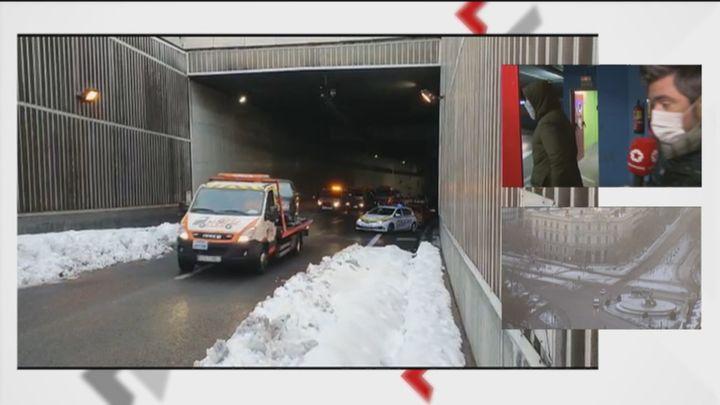 Visitamos un depósito municipal de Madrid, donde son llevados los coches rescatados tras la nevada