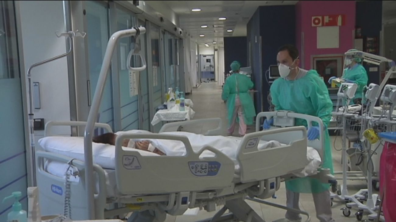 Crecen los contagios en Madrid 3.813 y la defunciones, 31, en 24 horas