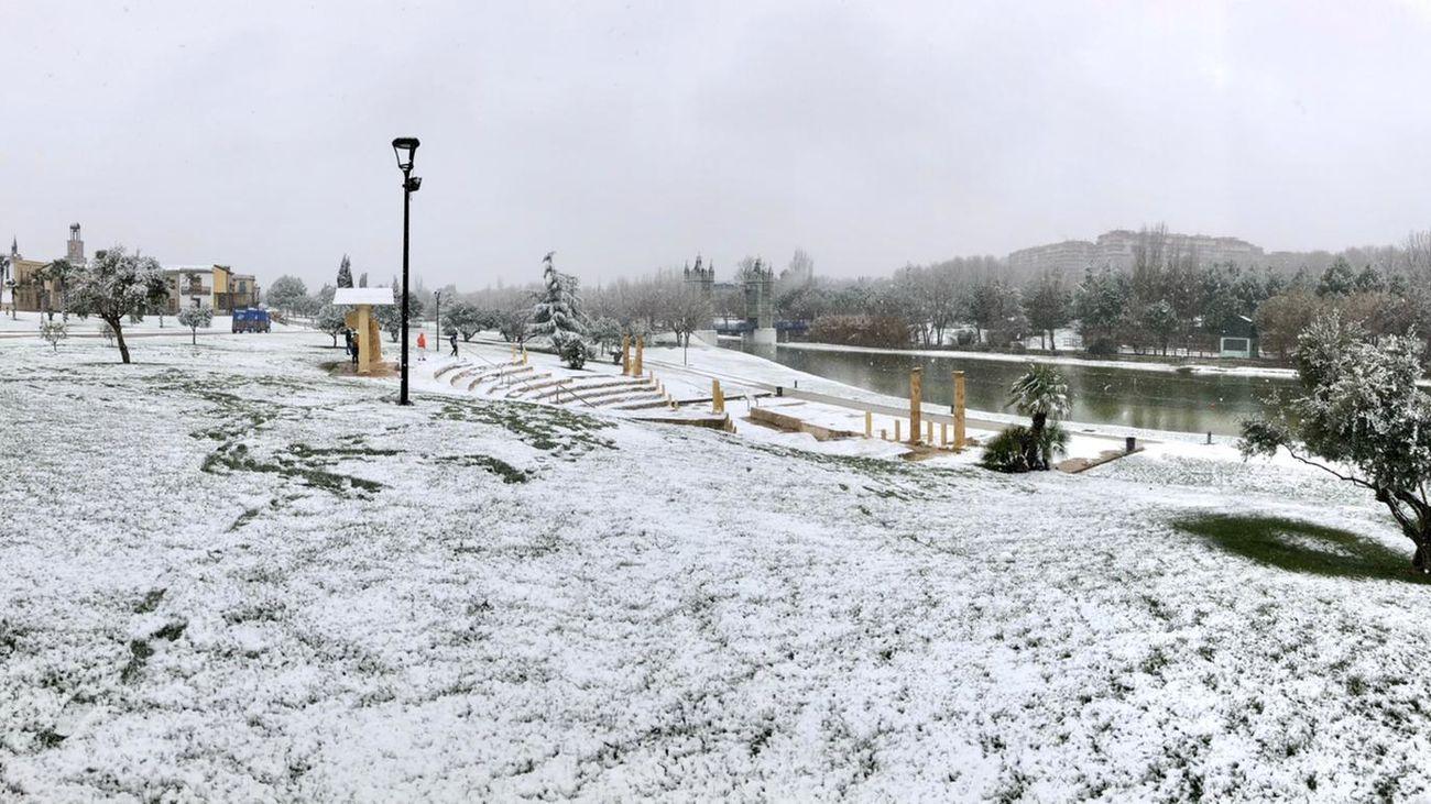 Torrejón nevado