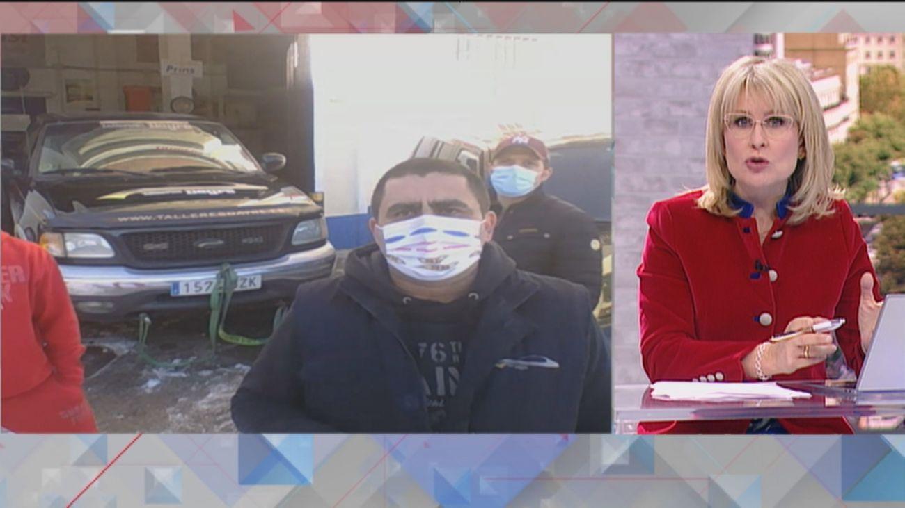 Ataques a los conductores voluntarios 4X4 en Madrid