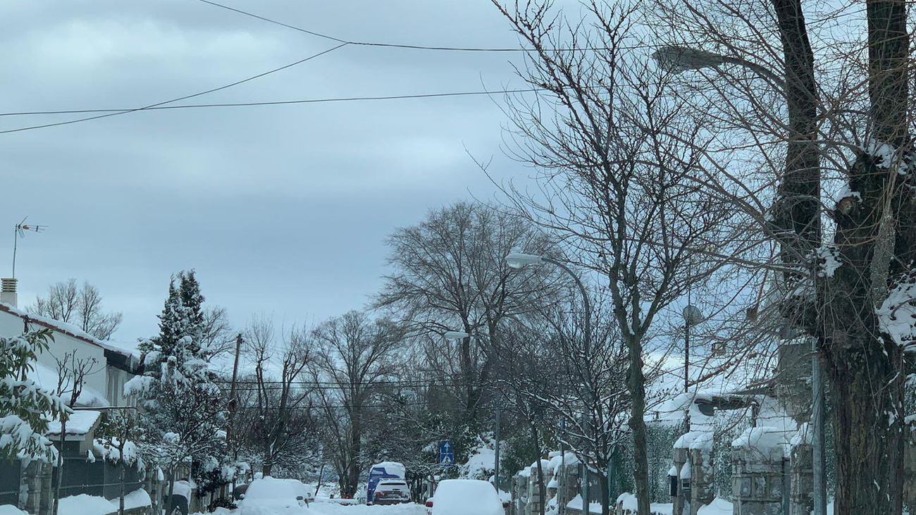 Colmenar Viejo tras la nevada