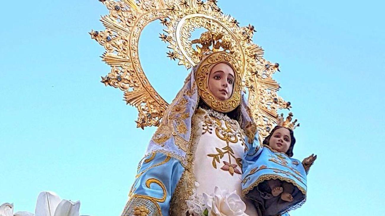 La Virgen que no quiso irse de Robledo
