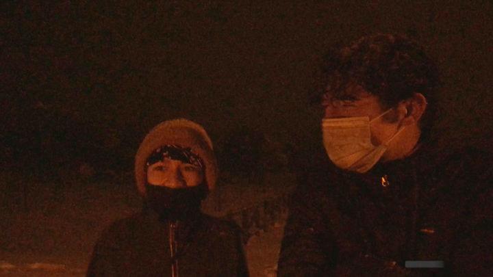 El programa 'Mi cámara y yo' rescata a dos jóvenes en medio de la tempestad de Filomena