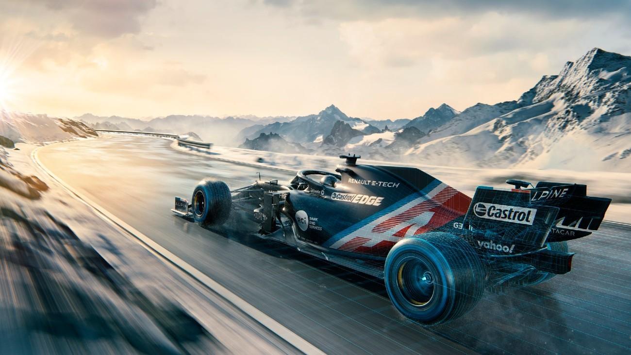 Alpine muestra el A521 de Fernando Alonso