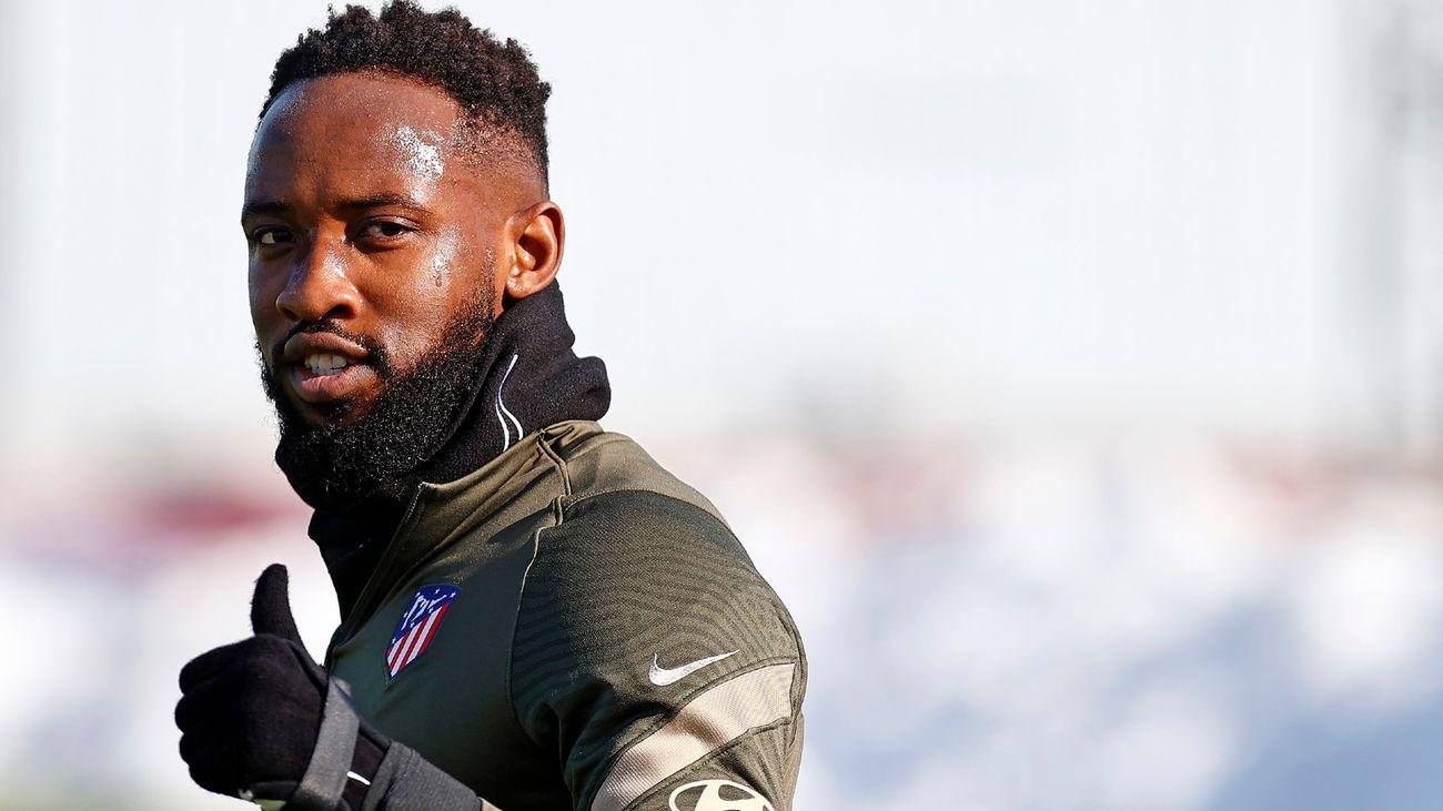 Dembelé se desploma en el entrenamiento del Atlético