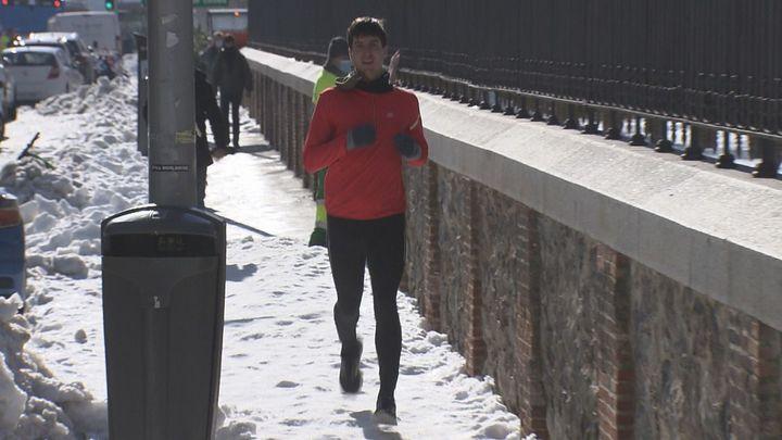 El running no está reñido con el frío y sí con el hielo