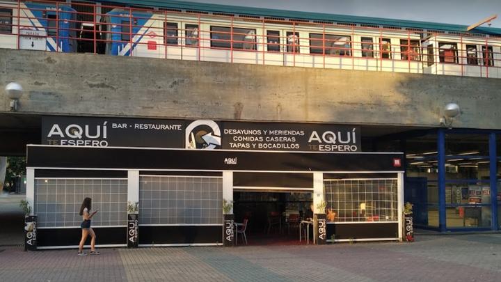 Aplazado el desalojo de un bar de la estación de Metro de Aluche