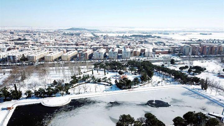 Getafe se congela: no pasaba tanto frío desde 1985