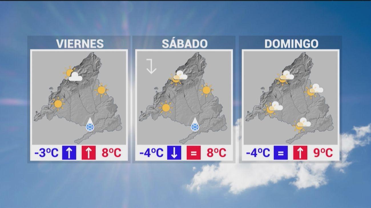 Madrid sigue en alerta naranja por bajas temperaturas; en la sierra hay aviso amarillo