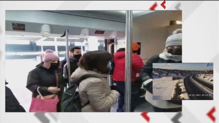 Multitud de problemas de nuevo en Cercanías Madrid, sobre todo en la C-2 entre Madrid y Guadalajara