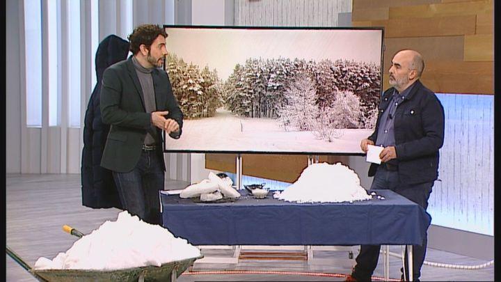 Analizamos junto a un experto cuándo desaparecerá la nieve en Madrid