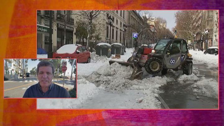 ¿Cuándo se va a derretir la nieve en Madrid?