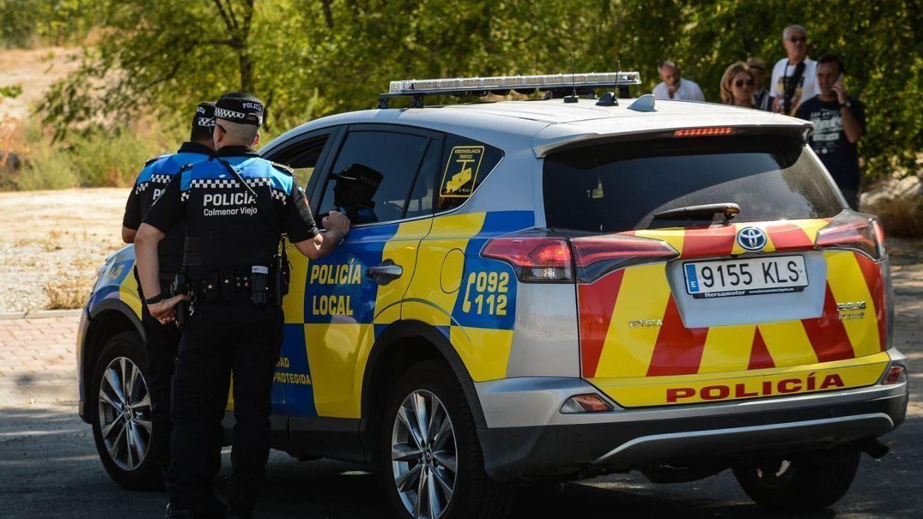 Agentes de la Policía Local de Colmenar Viejo
