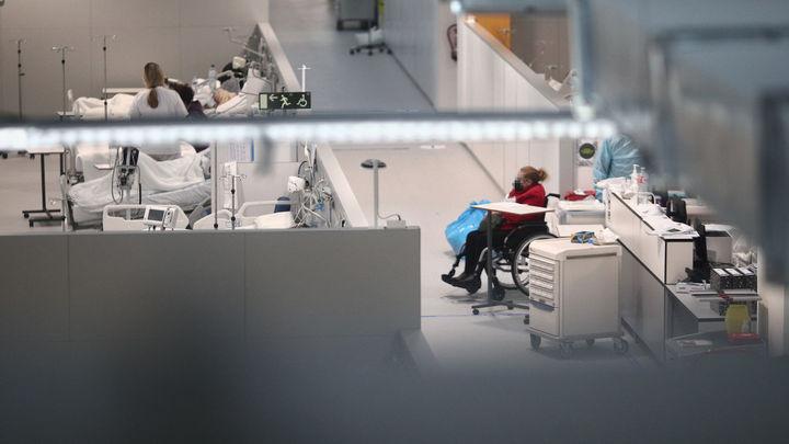 El Hospital Isabel Zendal abre su pabellón 1 con 384 camas para pacientes Covid