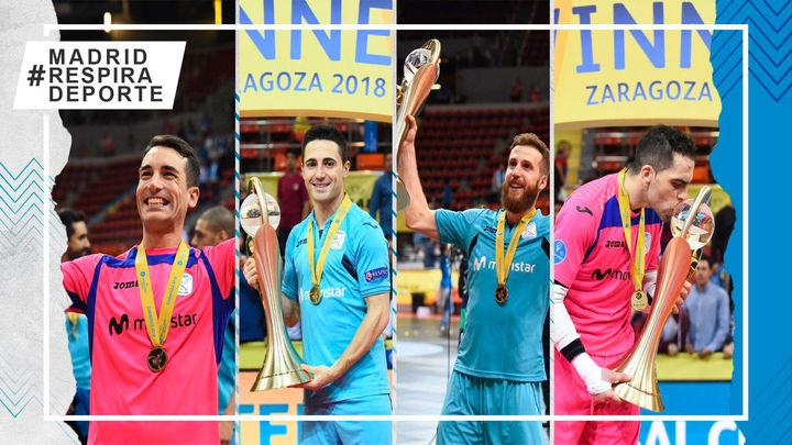 Movistar Inter regresa a su competición fetiche, la Champions