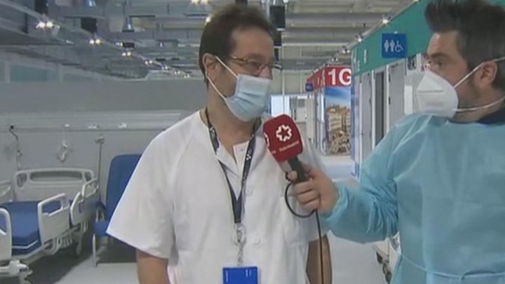 """Entramos en el hospital Zendal, que acoge ya a 222 pacientes de Covid: """"Es un hospital pensado para el futuro"""""""