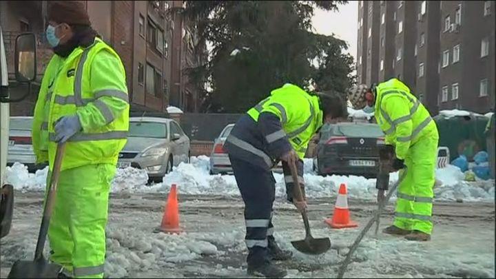 La Comunidad pide revisar desagües y alcantarillado para facilitar deshielo antes del miércoles