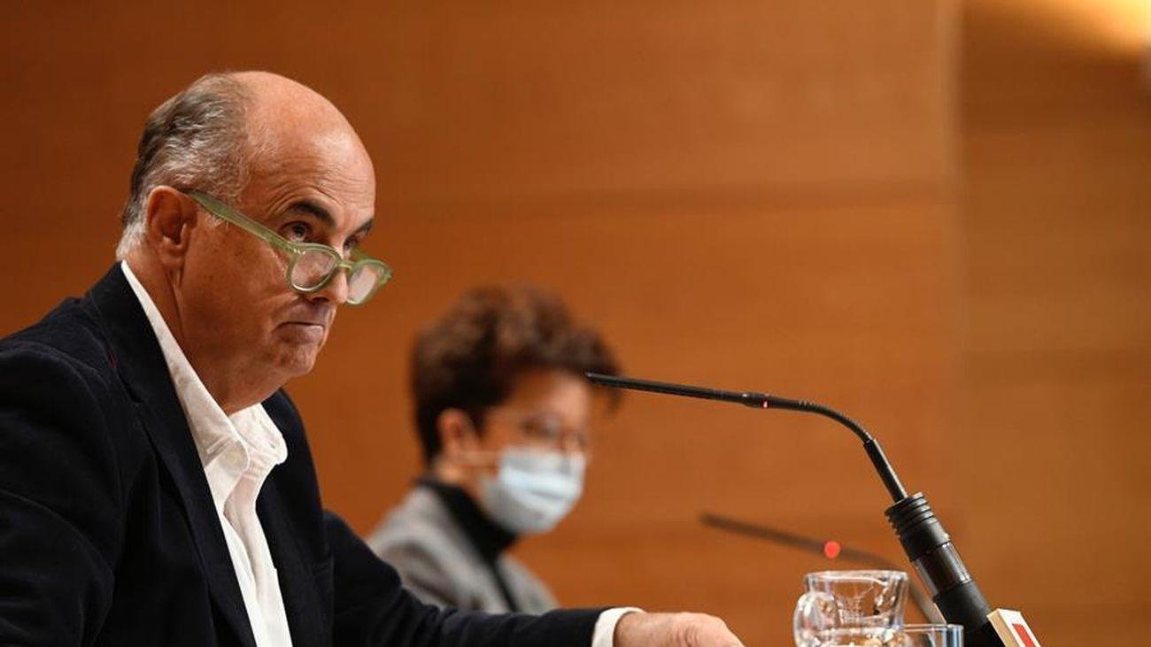 El viceconsejero de Salud Pública y Plan COVID-19, Antonio Zapatero,