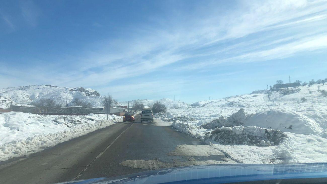 El acceso a Aranjuez por la carretera de Antígola vuelve a tener los dos carriles