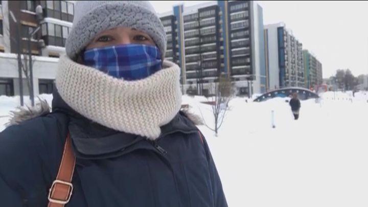 Cómo conviven con el frío y la nieve los madrileños por el mundo