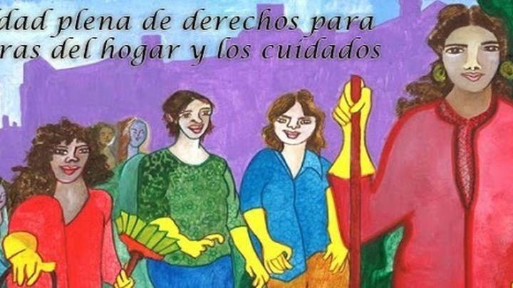 Las empleadas de hogar piden reunirse con la ministra de Trabajo para reclamar sus derechos