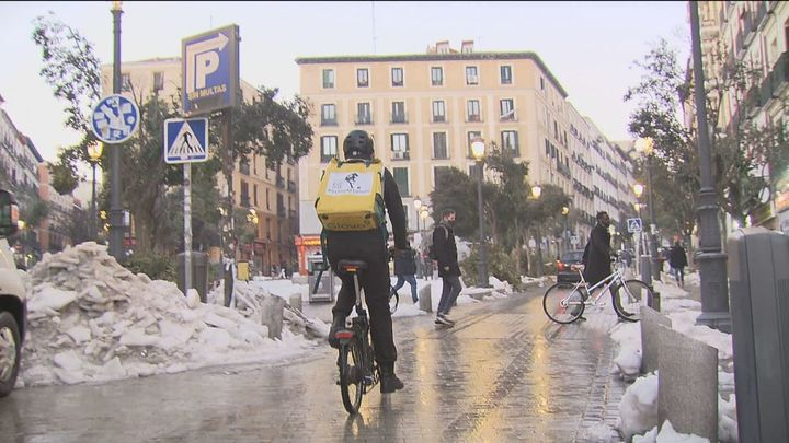 """Los """"riders"""" vuelven a formar parte del paisaje madrileño"""