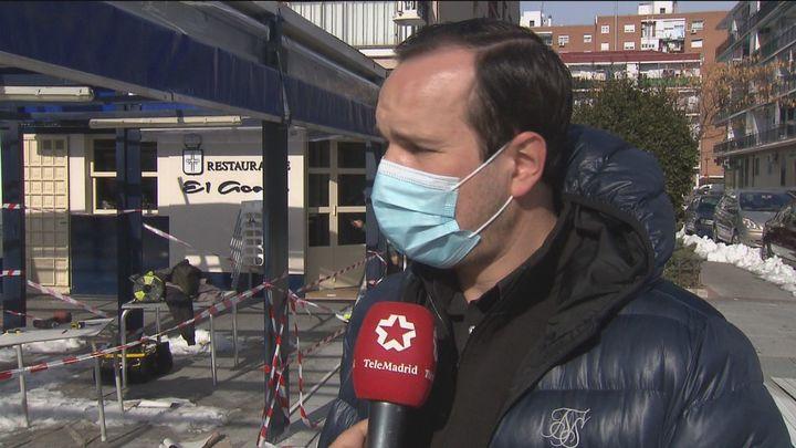 Temor en la hostelería madrileña a que los seguros no cubran lo daños ocasionados por las nevadas