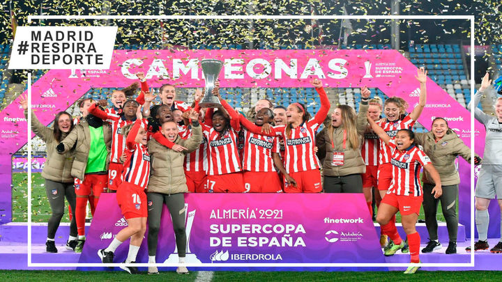 0-3. Atlético de Madrid, supercampeonas de España con un baño al Levante
