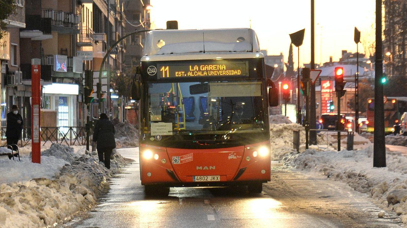 Autobús en Alcalá de Henares
