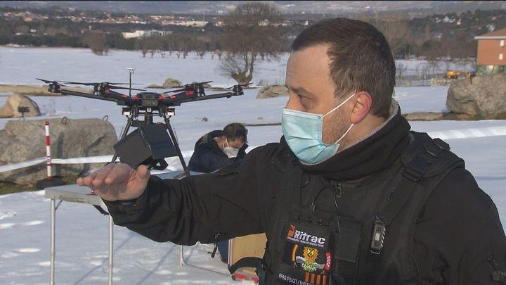 Pilotos de drones colaboran de manera altruista con ayuntamientos para evaluar  los daños de Filomena