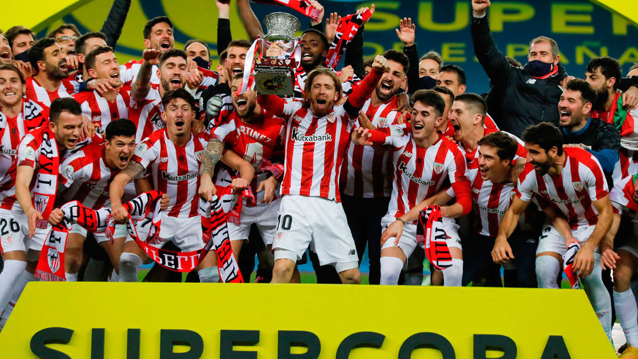 El Athletic de Marcelino se corona 'supercampeón'