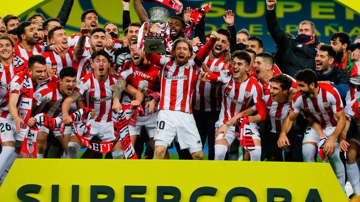 2-3. El Athletic se lleva la Supercopa ante el Barça
