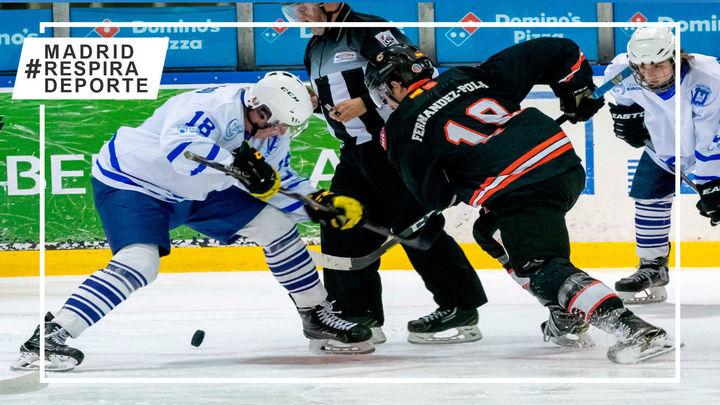Hockey Hielo Majadahonda se aferra a la pelea por la primera plaza