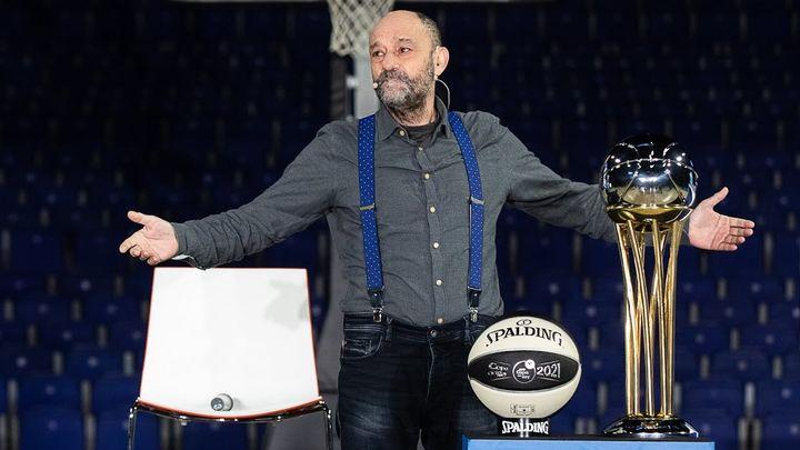 Javier Cansado y la Copa del Rey de básket