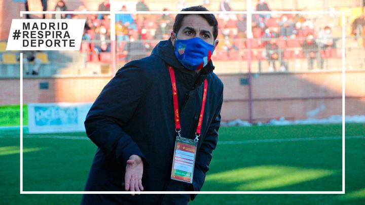 Ayllón dedica la proeza del Navalcarnero a quienes retiraron la nieve del estadio