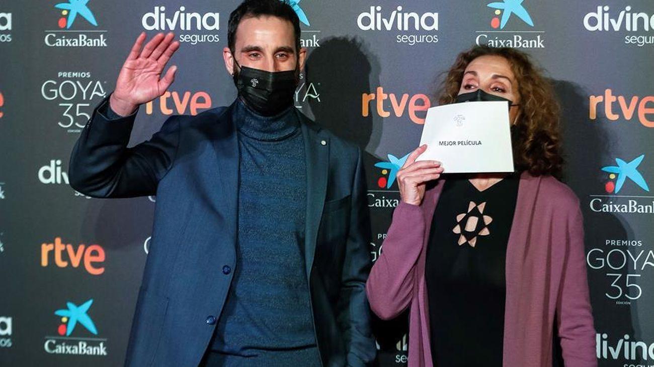 Dani Rovira y Ana Belén dan a  conocer el listado de los nominados s los premios Goya
