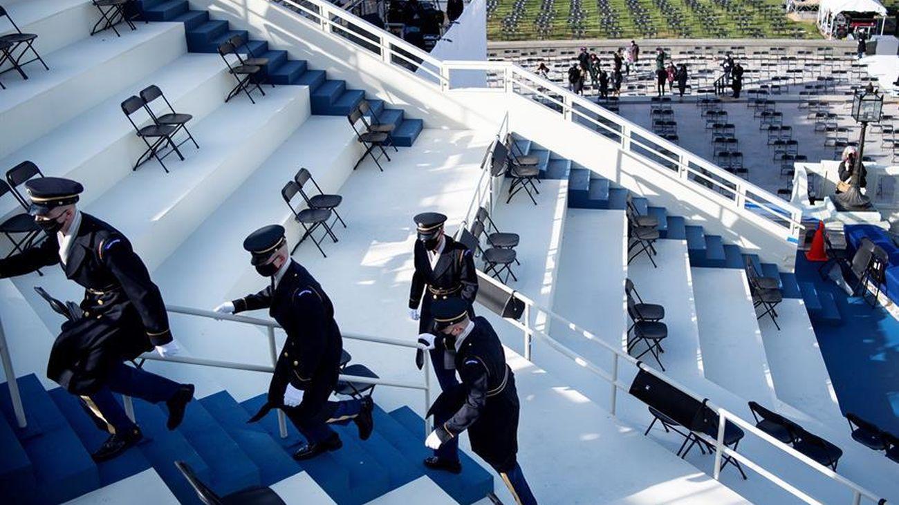 Estados Unidos se blinda ante el riesgo de protestas armadas  por la investidura de Biden