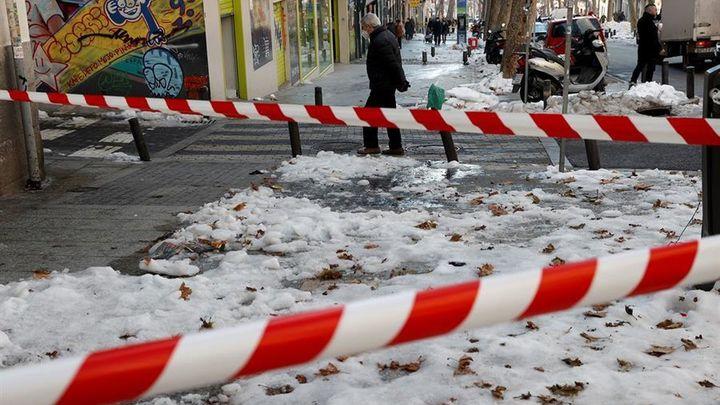 ¿Cómo afecta la nieve y el hielo de las calles de Madrid a la movilidad de las personas con discapacidad?