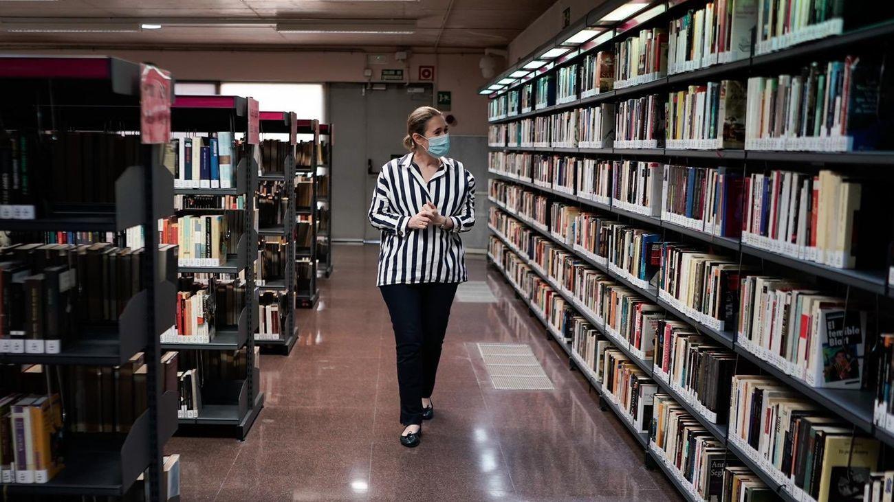 Reabren las bibliotecas públicas de Madrid