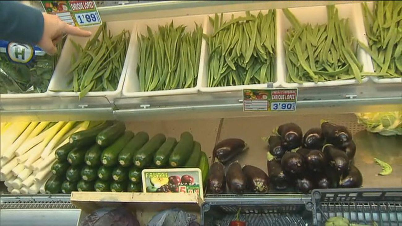 Se dispara el precio de las frutas y verduras por las heladas tras la nevada dejada por 'Filomena'