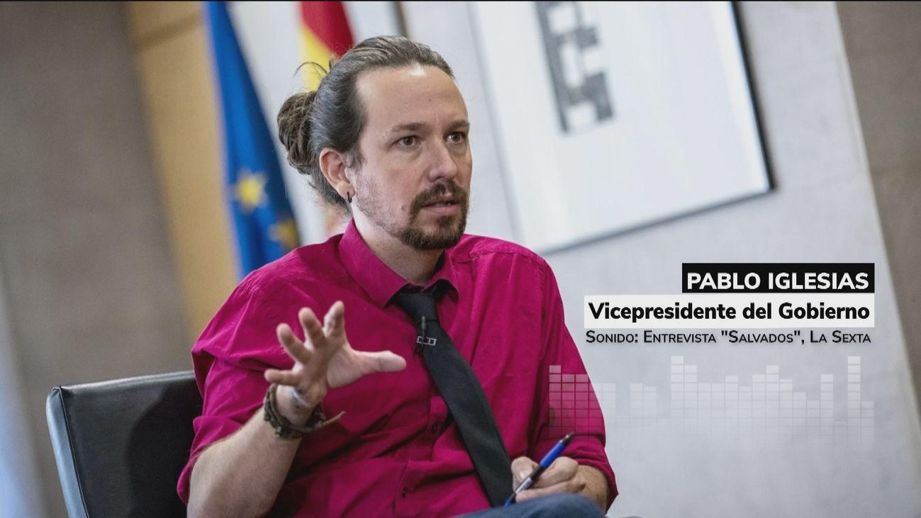 Duras críticas y reproches a Pablo Iglesias por comparar a Puigdemont con los exiliados republicanos